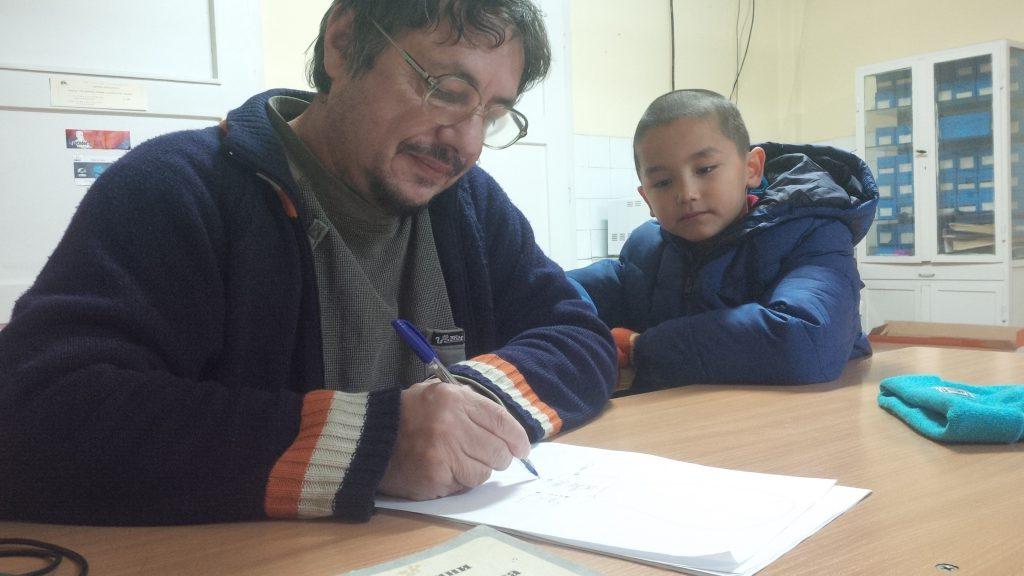 Стоян Тенев и Исая Терзийски