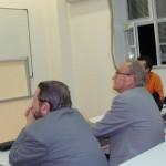 Енчо Тилев по време на презентацията си