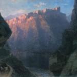 Дарьяльское ущелье - 1868 год.