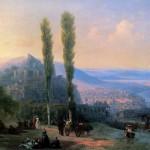 Вид Тифлиса - 1869 год.
