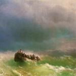 В бурю - 1872 год.