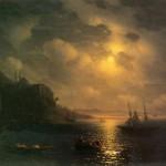 Золотой рог. Босфор - 1872 год.